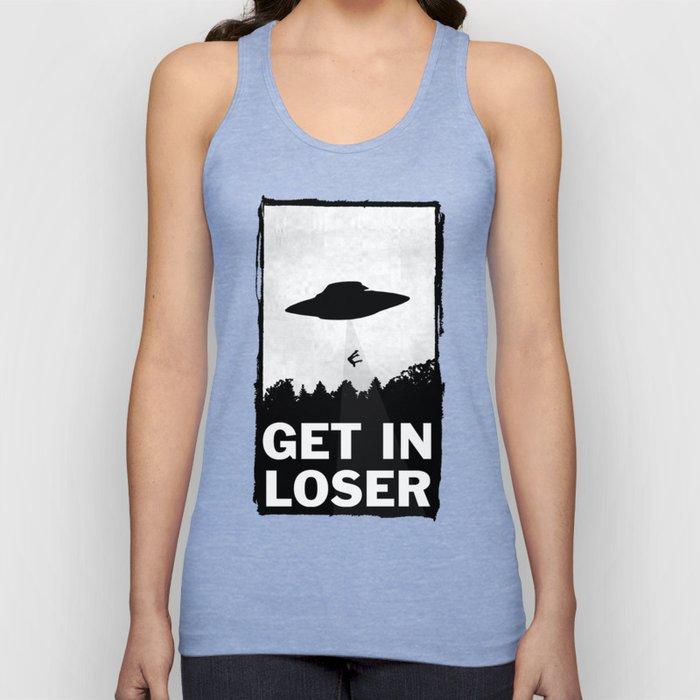 Get In Loser Unisex Tanktop