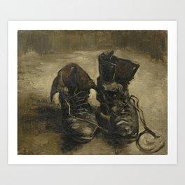 Vincent van Gogh - Boots Art Print