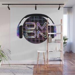 Dark Matter Digital Network Wall Mural