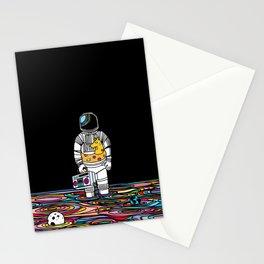 Space oddity Stationery Cards