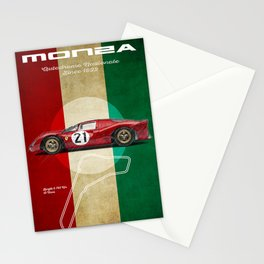 Monza Racetrack Vintage Stationery Cards
