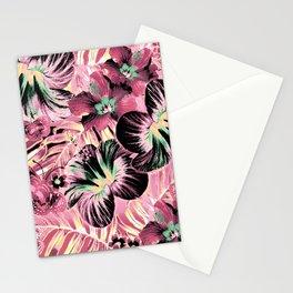 Vintage Pink Aloha Stationery Cards