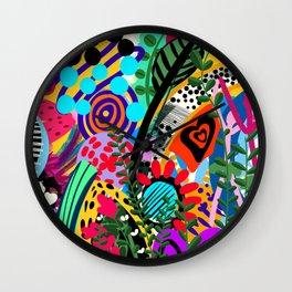 Blue Feeling Wall Clock