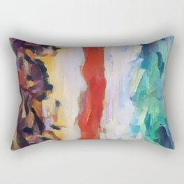 Abstract 7 Rectangular Pillow