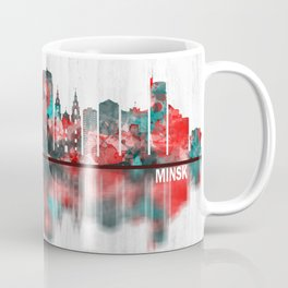 Minsk Belarus Skyline Coffee Mug