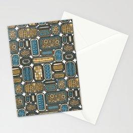 Oblongs 2 Stationery Cards