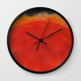 The Mighty Sun Wall Clock