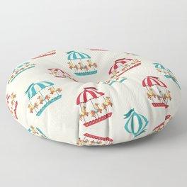 Carousel Dreams Floor Pillow