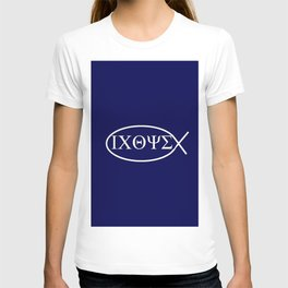 christogram 1 ichthys or ichthus T-shirt