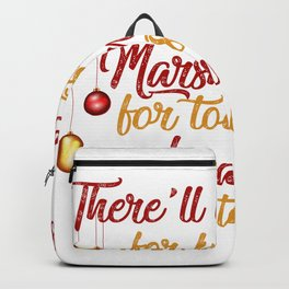 Party on Christmas Backpack