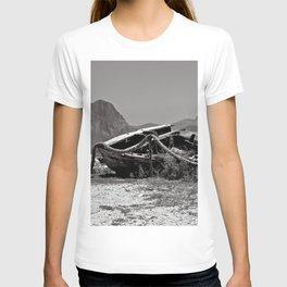 Abandoned Tuna Fisherman Port in Sicily T-shirt