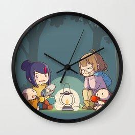 Lamp Light Wall Clock