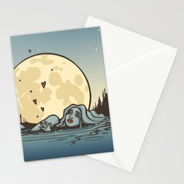 Moon Tears Stationery Cards