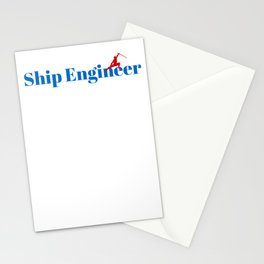 Top Ship Engineer Stationery Cards
