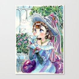 Tea witch Canvas Print