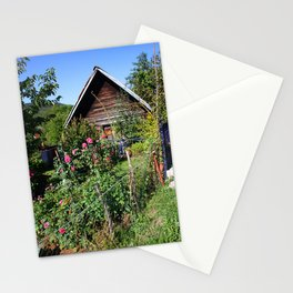 Tiny Garden In The Mountains Stationery Cards