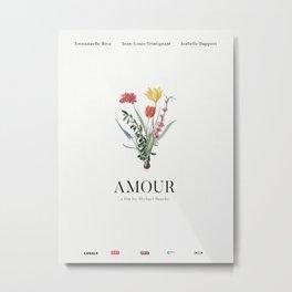 Amour Alternative Movie Poster Metal Print
