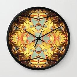 Amber Reef Wall Clock