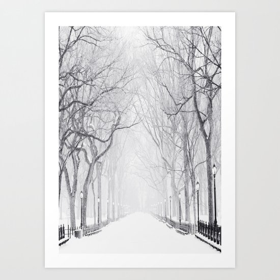 Snowy Park by andreas12