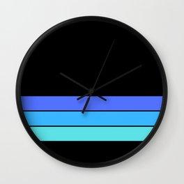 06DA17 | Line Pattern | Digital Art | Artist Amiee Wall Clock