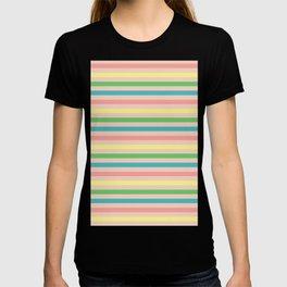 Toucan Peach Stripe Coordinate T-shirt