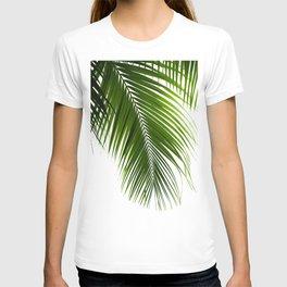 Palm Leaves Green Vibes #10 #tropical #decor #art #society6 T-shirt