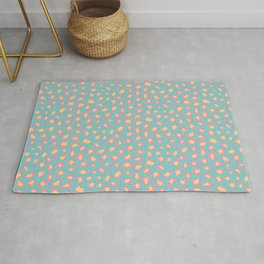 Leopard Baby - Pink and  Blue Rug