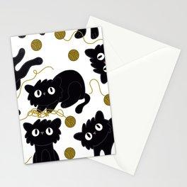 Naughty Kitties Stationery Cards