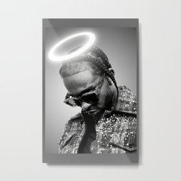 Pop Smoke Custom Poster, Rapper Poster, Music Print, Gift For Friend, Home Decoration, Custom Canvas, Unframed Canvas Metal Print