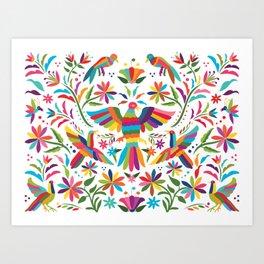 Mexican Otomí Design Art Print