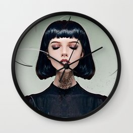a slight breeze Wall Clock