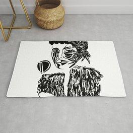Billie Holiday Rug