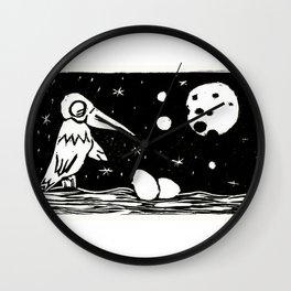 The Curious Case of the Bird in the Night Wall Clock