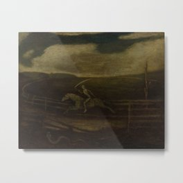 The Race Track (Death on a Pale Horse) by Albert Pinkham Ryder Metal Print