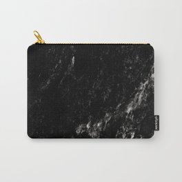 Black Marble #6 #decor #art #society6 Carry-All Pouch