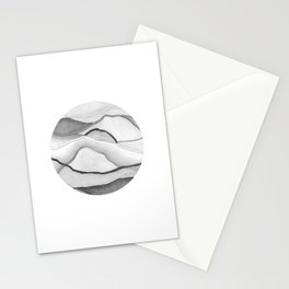 Mountainscape 5 Circle Stationery Cards