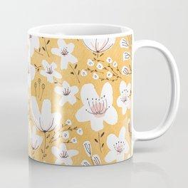 Yellow Meadow of Flowers Coffee Mug
