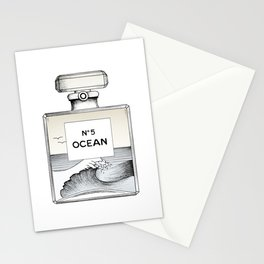Ocean No5 Stationery Cards