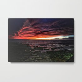 OB Sunset, San Diego Metal Print