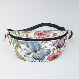 Wildflowers & Insects Fanny Pack