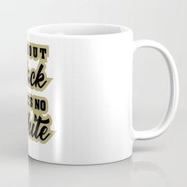 Whitout Black. There Is No White Coffee Mug