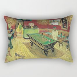 The Night Cafe by Vincent van Gogh Rectangular Pillow