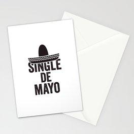 Single De Mayo Stationery Cards
