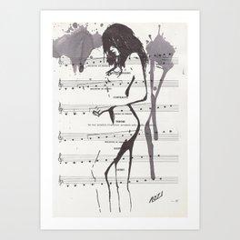 Anja Art Print