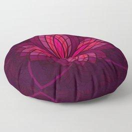 pink mandala Floor Pillow