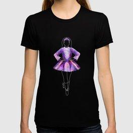 Irish Dancer Purple T-shirt