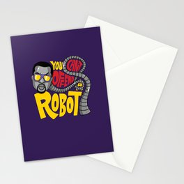 You Can't Offend a Robot Stationery Cards