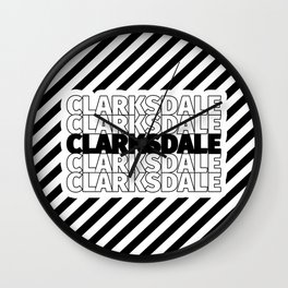 Clarksdale USA CITY Funny Gifts Wall Clock