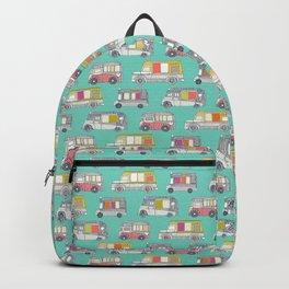 ice cream trucks mint Backpack