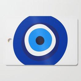 evil eye symbol Cutting Board
